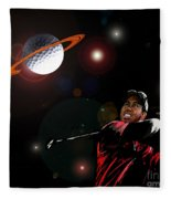 Cosmos Golf Fleece Blanket