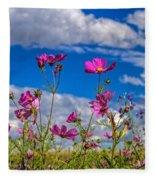 Cosmos Sky Fleece Blanket
