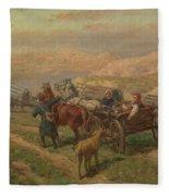 Cossak Convoy Fleece Blanket