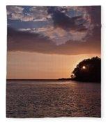 Costa Rica 049 Fleece Blanket