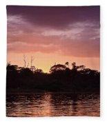 Costa Rica 052 Fleece Blanket