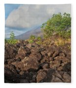 Costa Rica Volcanic Rock II Fleece Blanket