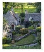 Cotswold Cottages Fleece Blanket