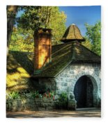Cottage - The Little Cottage Fleece Blanket