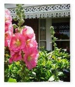 Cottage Garden.  Fleece Blanket