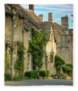 Cottage Row - Burford Fleece Blanket