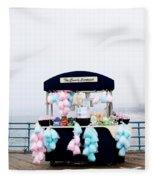 Cotton Candy Carousel- By Linda Woods Fleece Blanket