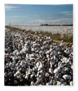 Cotton Field Fleece Blanket