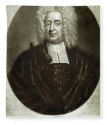 Cotton Mather 1663-1728 Fleece Blanket