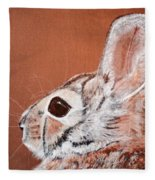 Cottontail  Fleece Blanket
