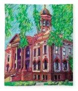 Cottonwood County Courthouse  Fleece Blanket