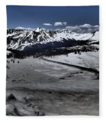 Cottonwood Pass Fleece Blanket