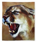 Cougar Fleece Blanket