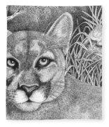 Cougar Fleece Blanket