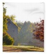 Country Autumn Fleece Blanket