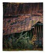Country Barn Fleece Blanket