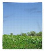 Country Beauty Fleece Blanket