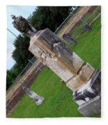 Country Cemetery Fleece Blanket
