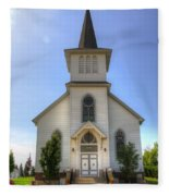 Country Church Fleece Blanket