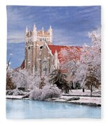 Country Club Christian Church Fleece Blanket