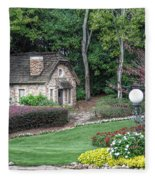 Country Cottage Fleece Blanket