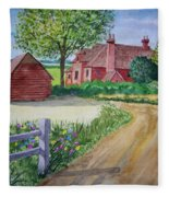 Country Estate Fleece Blanket