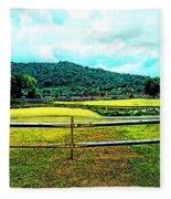 Country Field Fleece Blanket