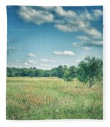 Country Fields Fleece Blanket