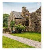 Country Garden Fleece Blanket