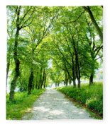 Country Lane Fleece Blanket