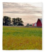 Country Living Fleece Blanket