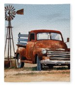 Country Memories Fleece Blanket