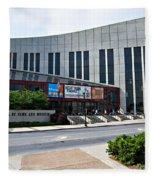 Country Music Hall Of Fame Nashville Fleece Blanket
