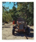 Country Road In California  Fleece Blanket