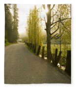 Country Road Fleece Blanket