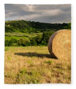 Countryside Of Italy 3 Fleece Blanket