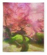 Courage Tree Fleece Blanket