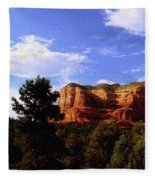 Courthous Butte Fleece Blanket