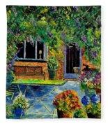 Courtyard 79 Fleece Blanket