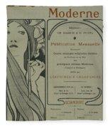 Cover Page From Lestampe Moderne Fleece Blanket