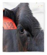 Cow 138 Fleece Blanket