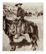 Cowboy, 1887 Fleece Blanket