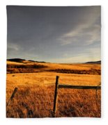 Cowboy Trail Fleece Blanket