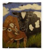 Cow's Fleece Blanket