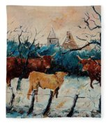 Cows Fleece Blanket