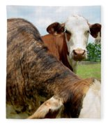 Cows8938 Fleece Blanket