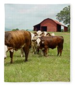 Cows8939 Fleece Blanket