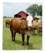 Cows8944 Fleece Blanket