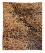 Coyote Brush Fleece Blanket