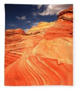 Coyote Buttes Sandstone Towers Fleece Blanket